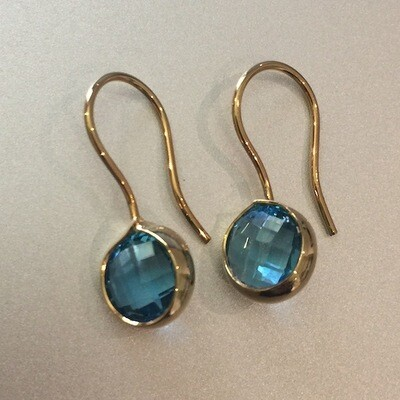 BE-510 Gold plated earrings