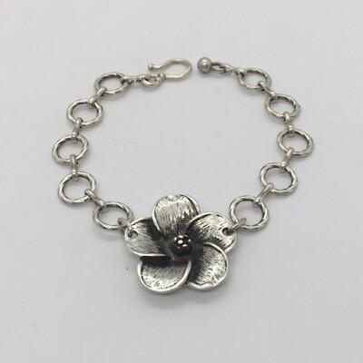 LHB-22 Silver plated bracelet