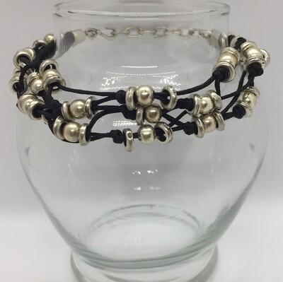 LHB-19 Silver plated bracelet