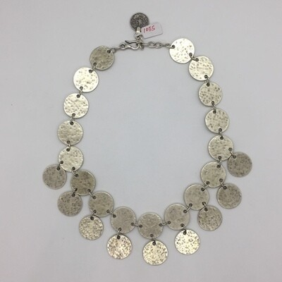 1055 - Silver Plated Necklace