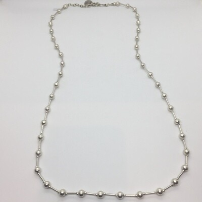 OTN-16 Silver plated necklace