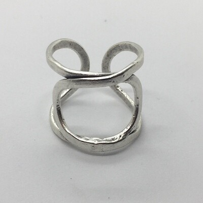 OTR-50 Silver plated ring