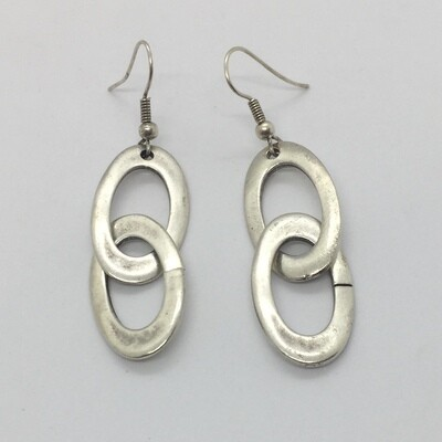 5027 - Silver Plated Earring