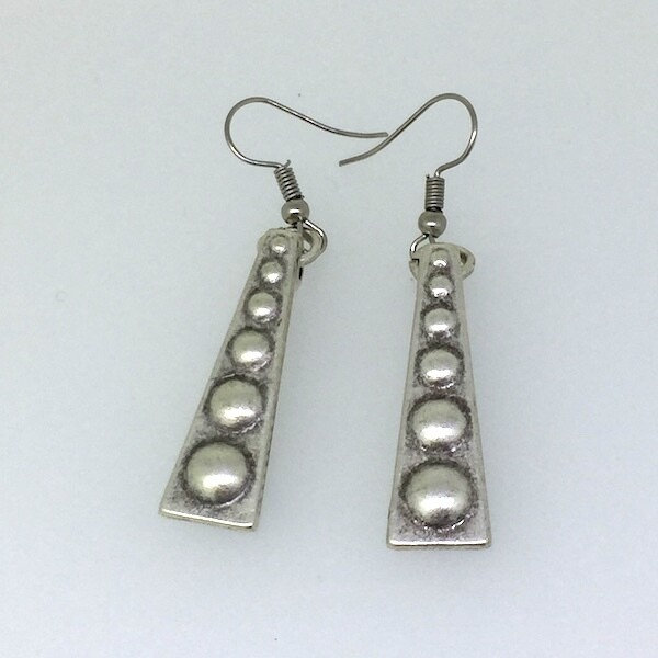 OTE-94 Silver plated earrings