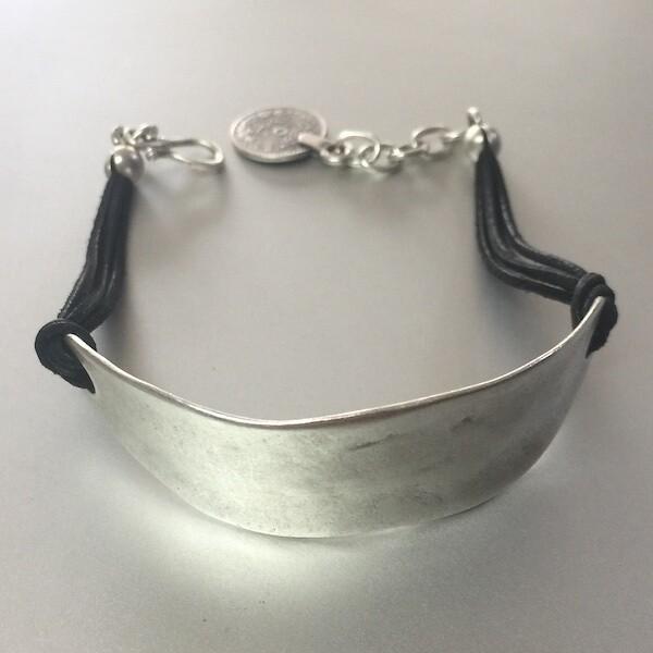 OTB-16 Silver plated bracelet