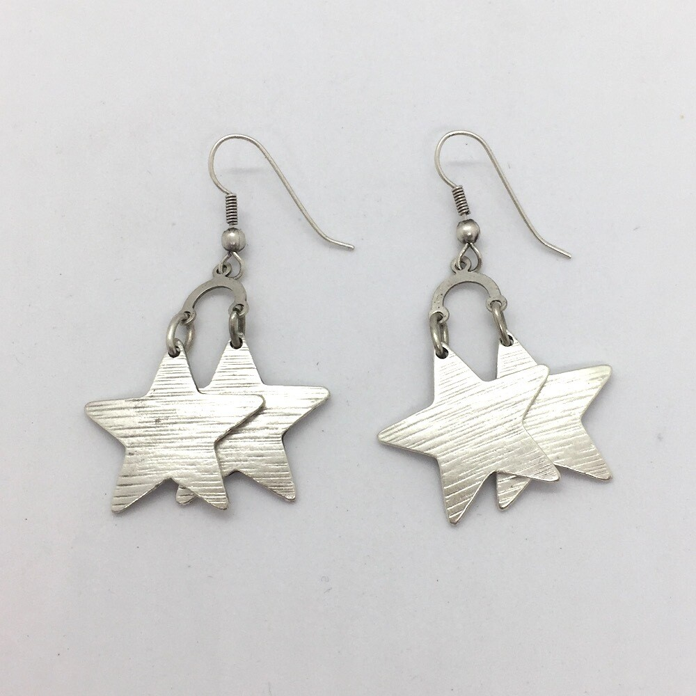 OTE-95 Silver plated earrings