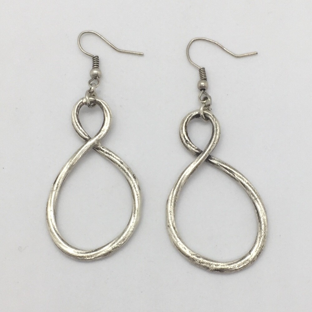 LHE-16 Silver plated earrings