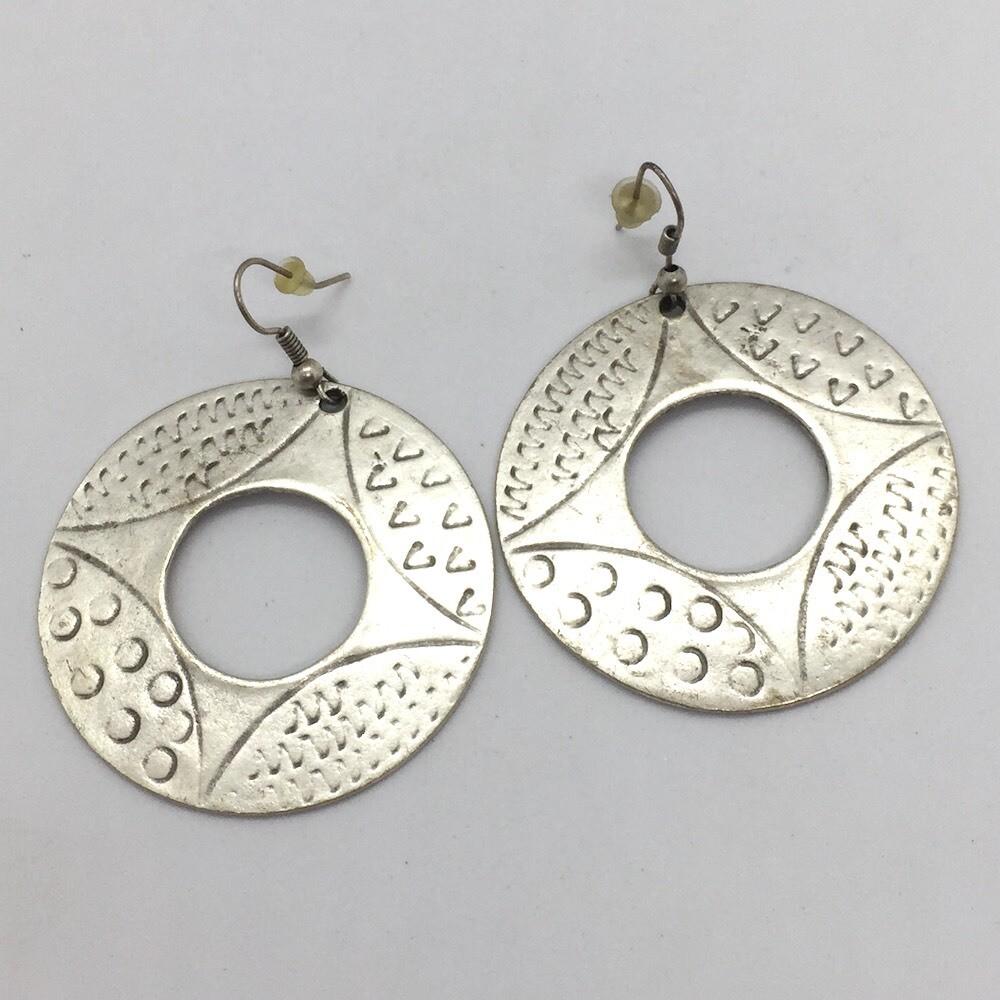 5107 Silver plated earrings