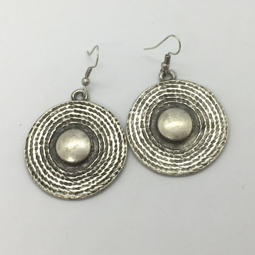 OTE-63 Silver plated earrings