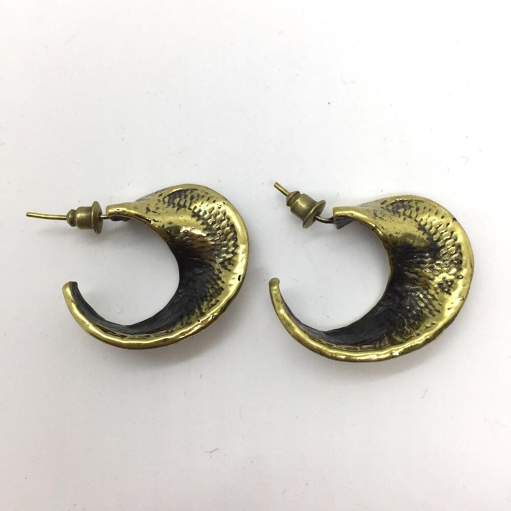 OTEB-4 Bronze earrings