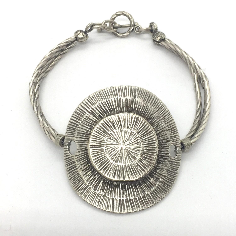 LHB-26 Silver plated bracelet