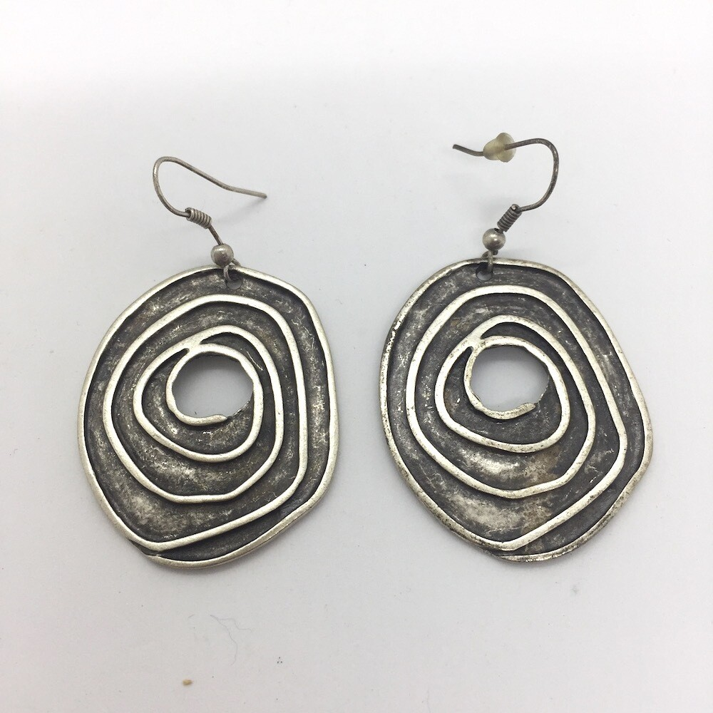 OTE-98 Silver plated earrings