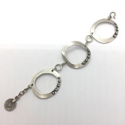 OTB-40 Silver plated bracelet