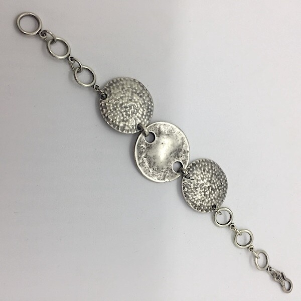 OTB-41 Silver plated bracelet