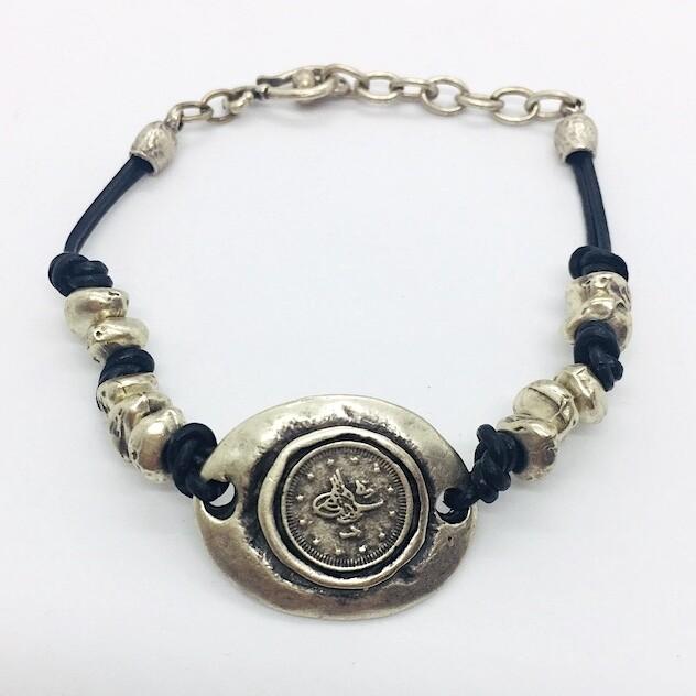 OTB-42 Silver plated bracelet