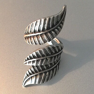 OTR-13 Silver plated ring
