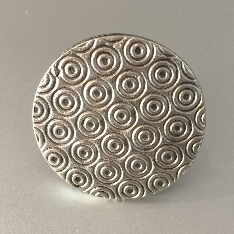 OTR-67 Silver plated ring