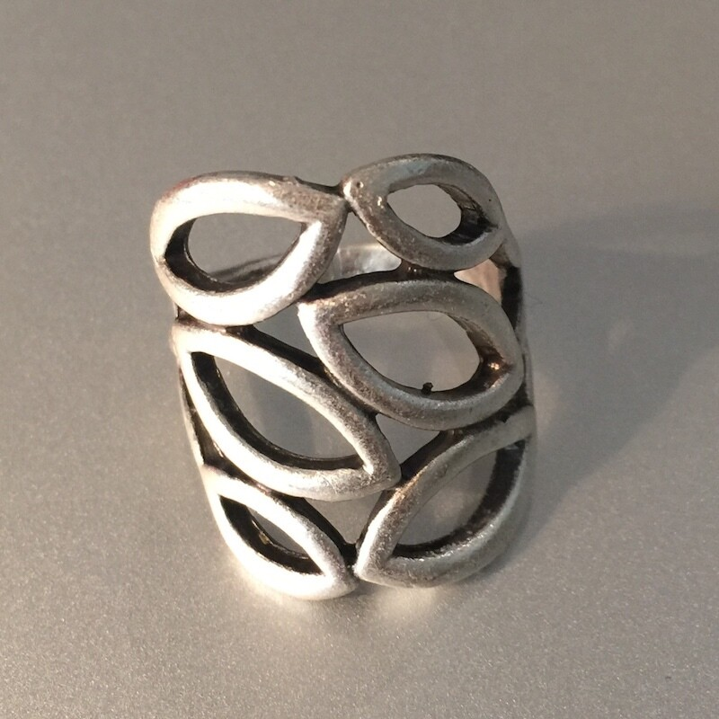 OTR-55 Silver plated ring