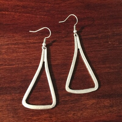 OTE-15 Silver plated earrings