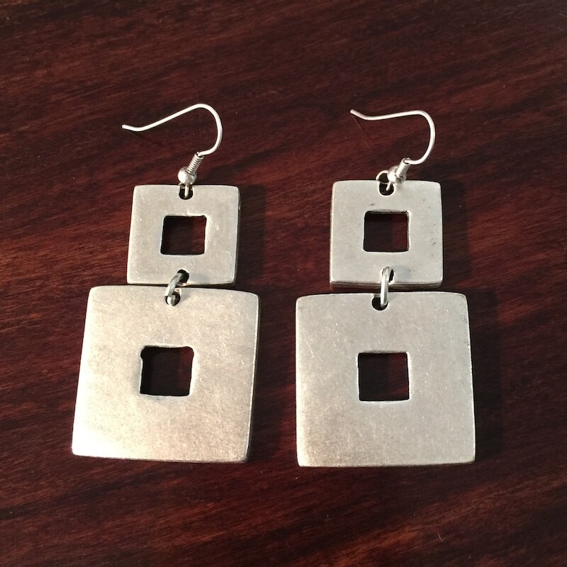 OTE-115 Silver plated earrings