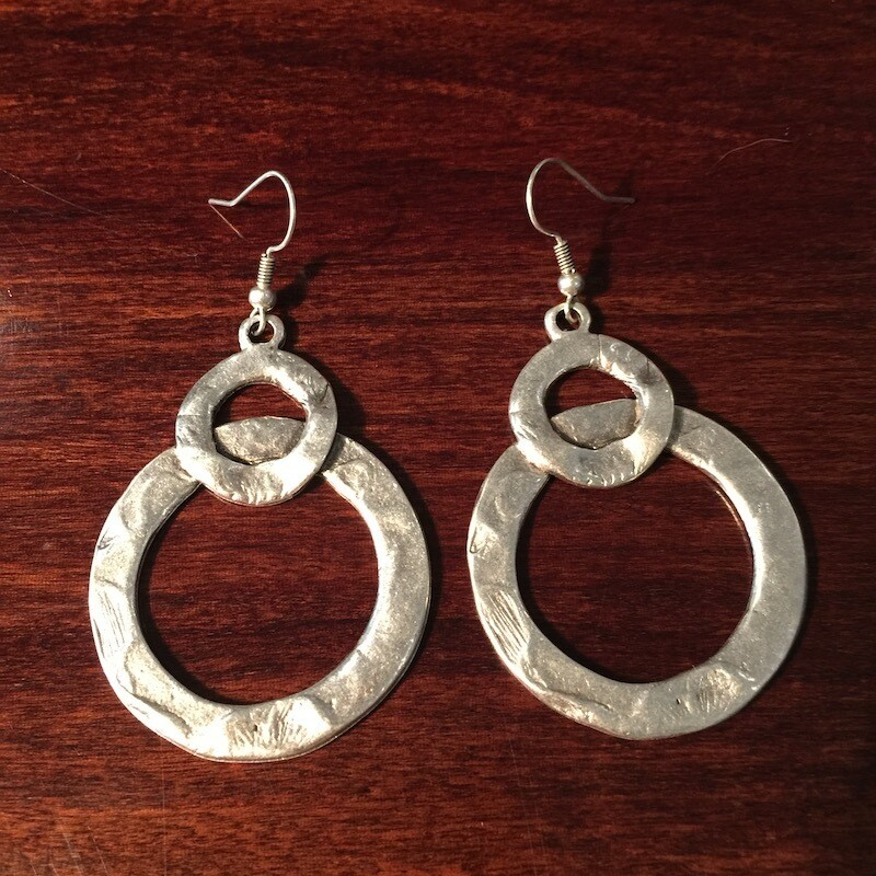 OTE-109 Silver plated earrings
