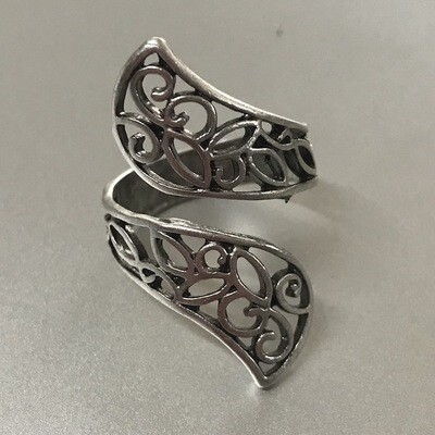 OTR-1224 Silver plated ring