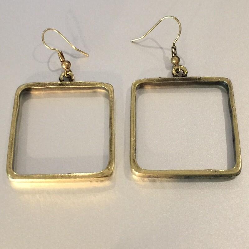 OTEB-2 Silver plated earrings