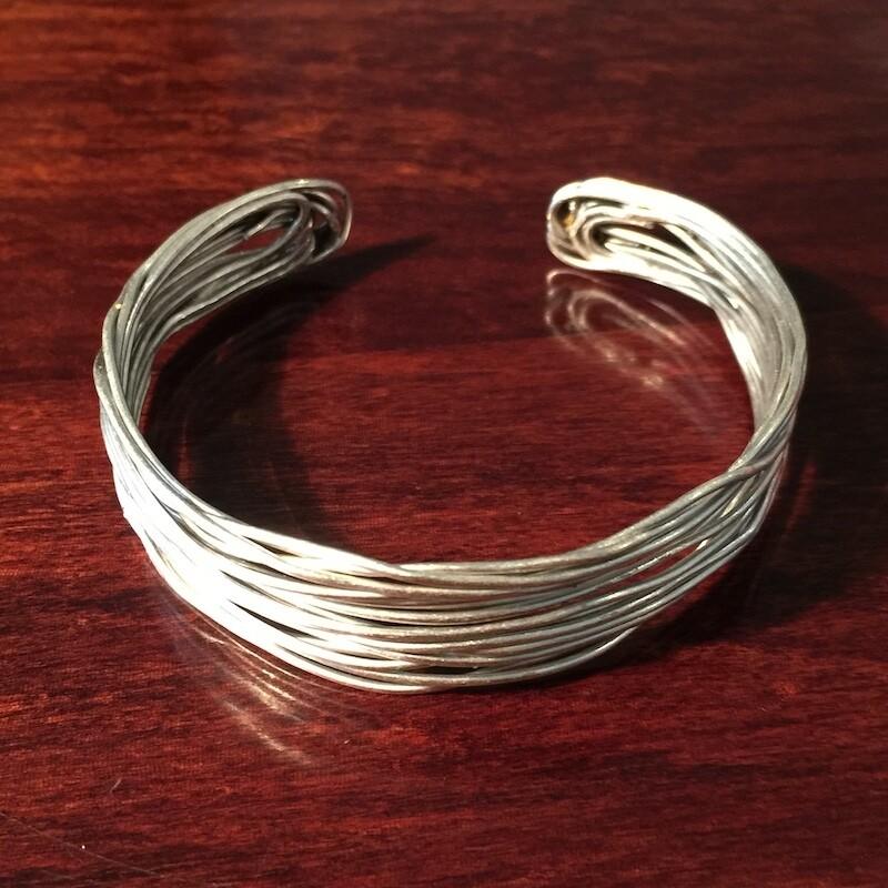 OTB-49 Silver plated bracelet