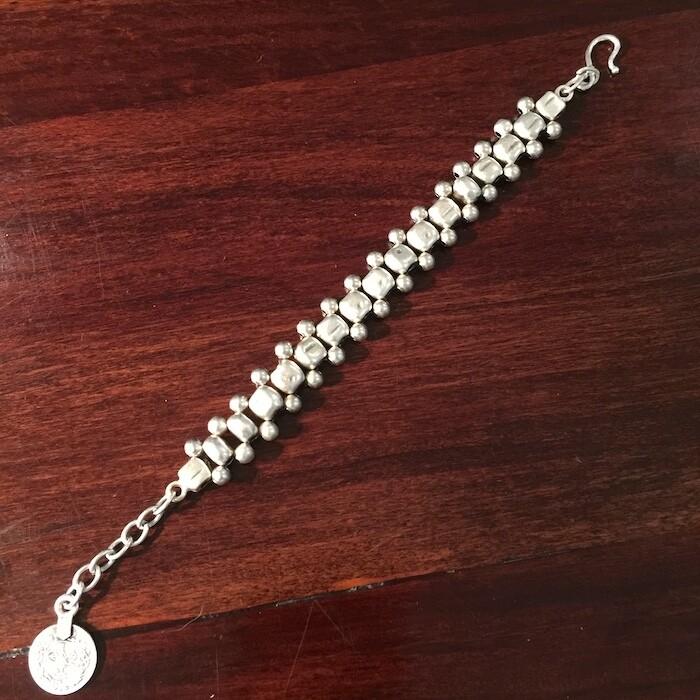 OTB-46 Silver plated bracelet
