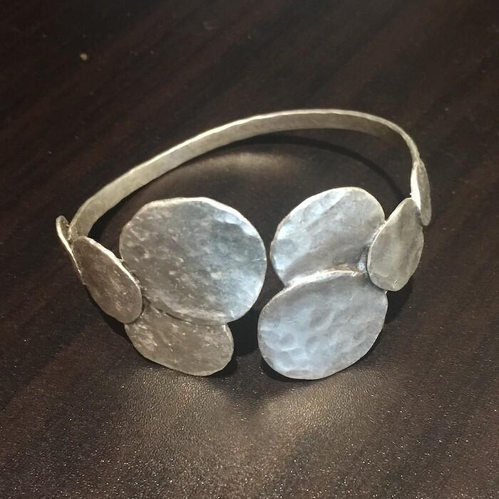 OTB-56 Silver plated bracelet