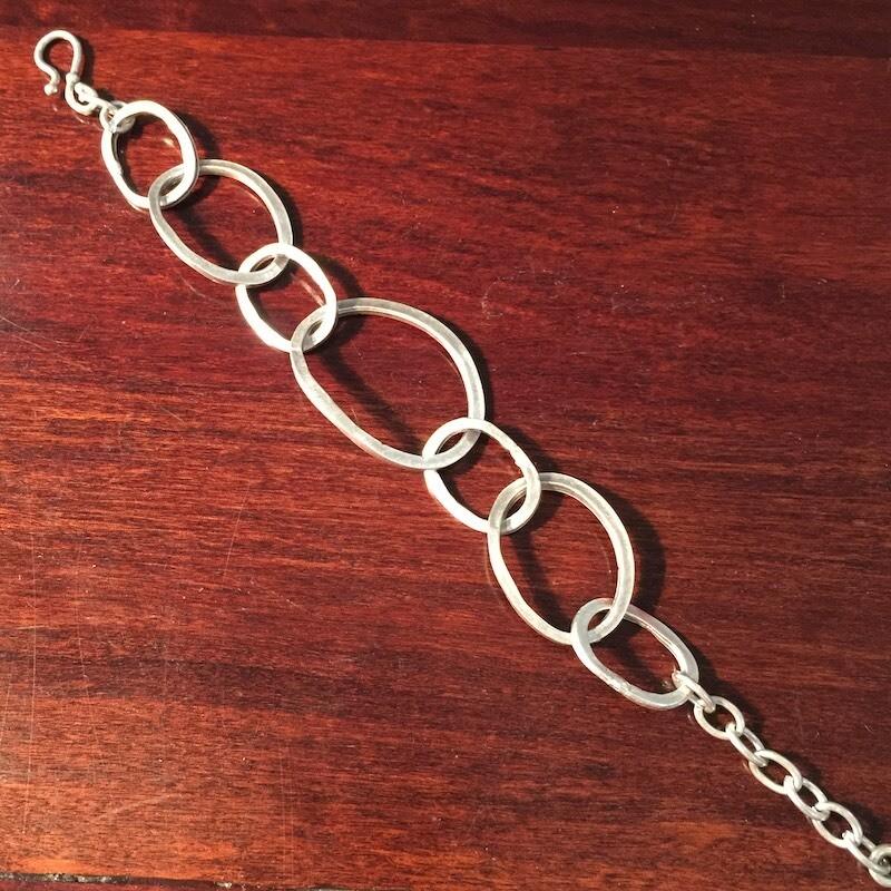 OTB-51 Silver plated bracelet