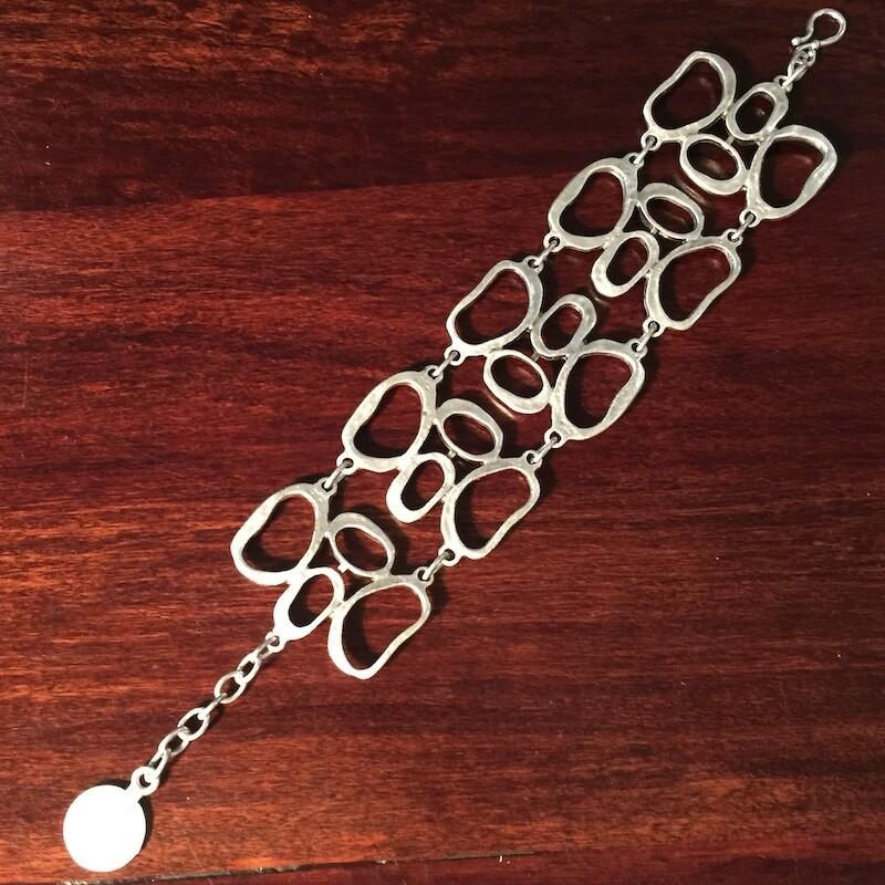 OTB-54 Silver plated bracelet