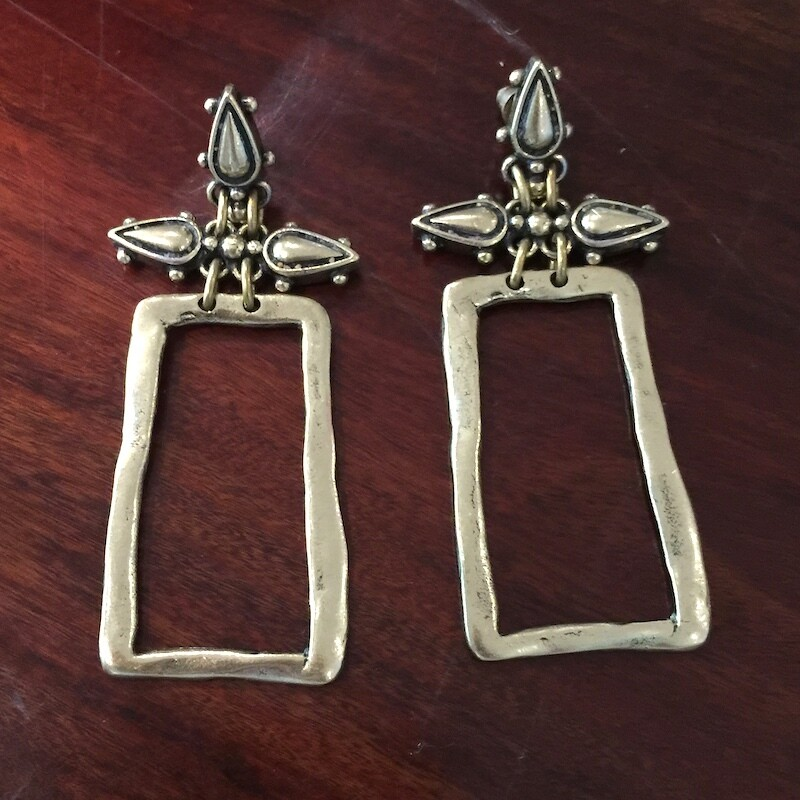 OTE-5 Silver plated earrings
