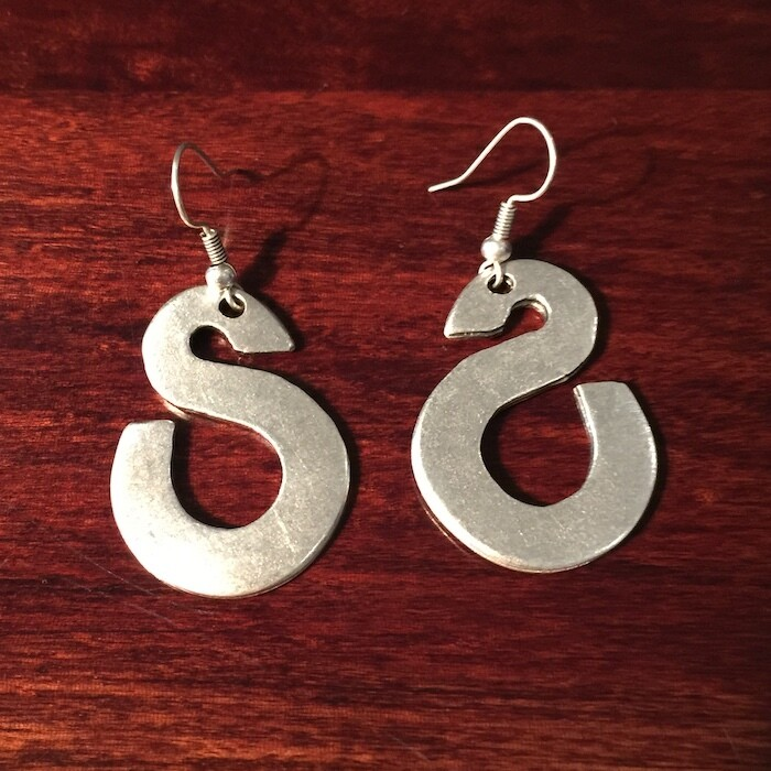 OTE-110 Silver plated earrings