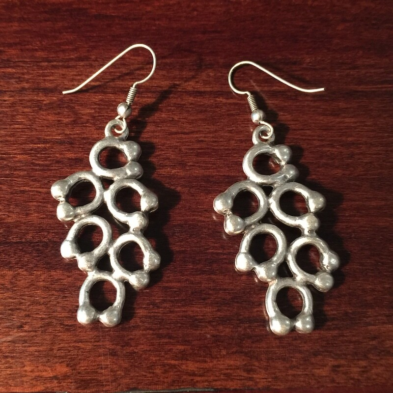 OTE-112 Silver plated earrings