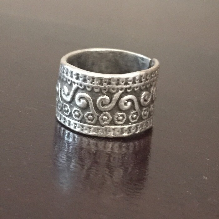 OTR-62 Silver plated ring