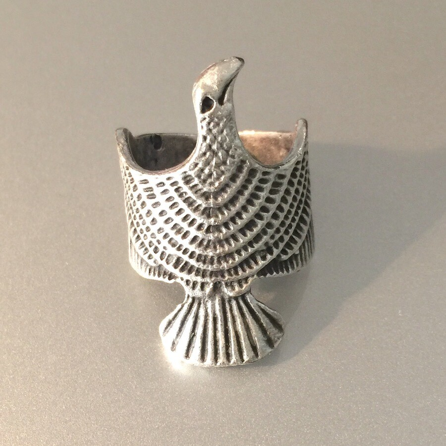 OTR-60 Silver plated ring