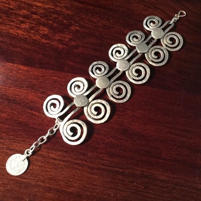 OTB-47 Silver plated bracelet
