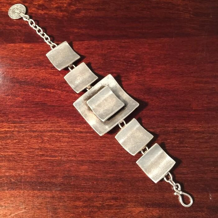 OTB-48 Silver plated bracelet