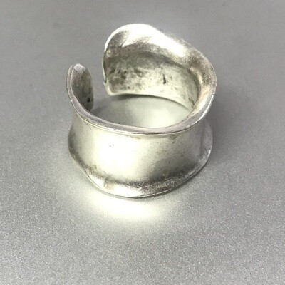 OTR-9 Silver plated ring