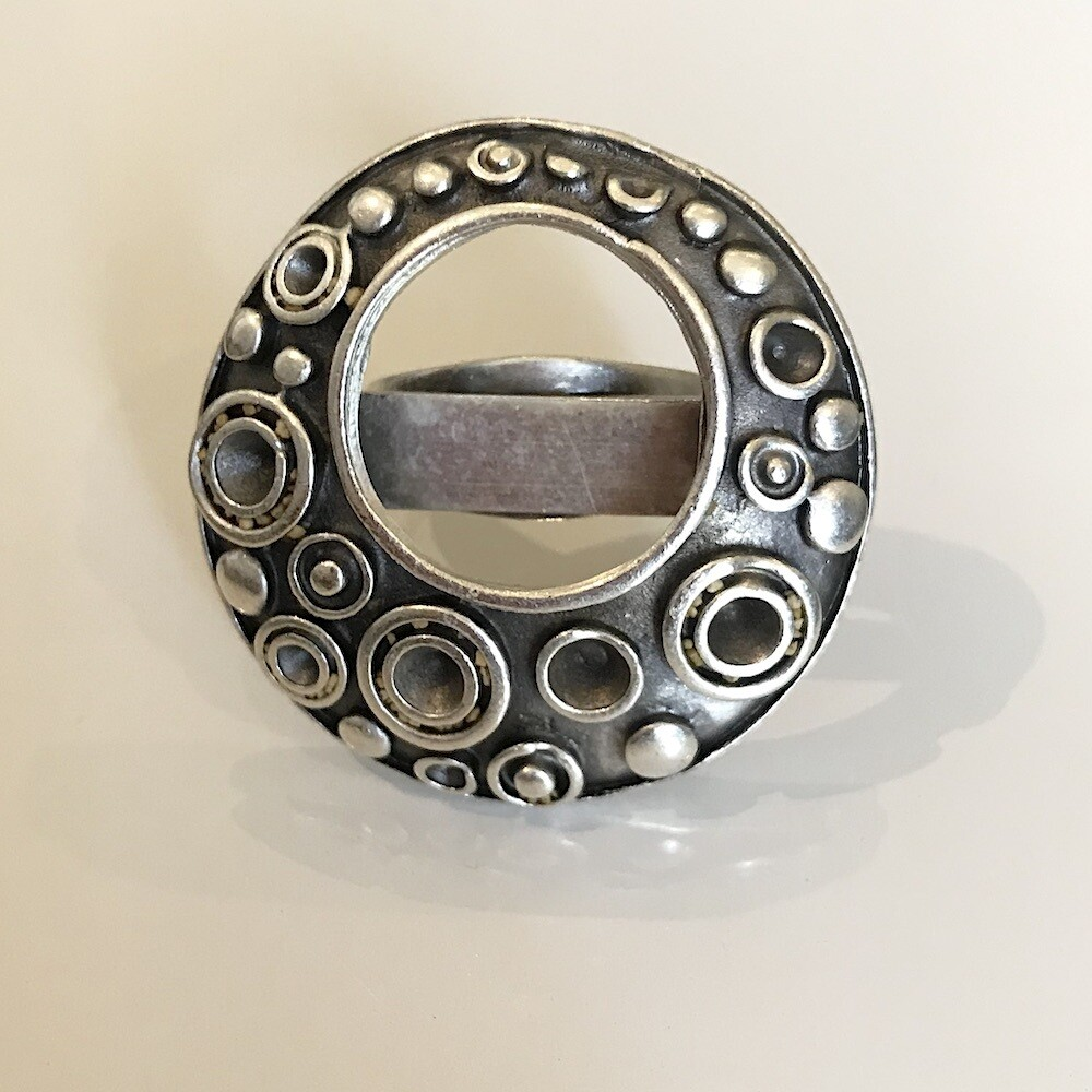 OTR-72 Silver plated ring