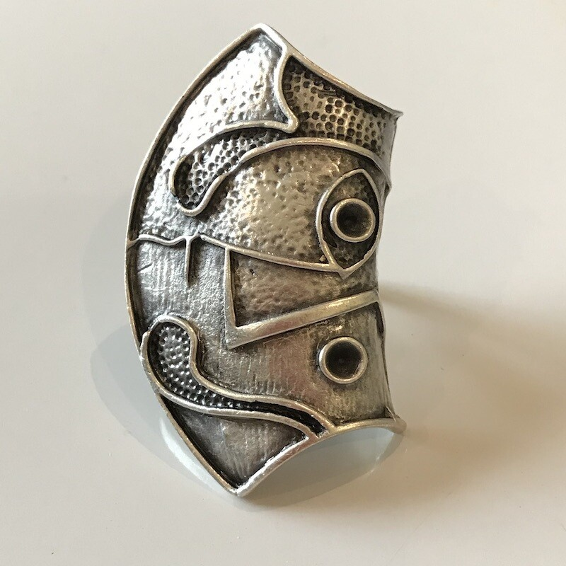 OTR-74 Silver plated ring