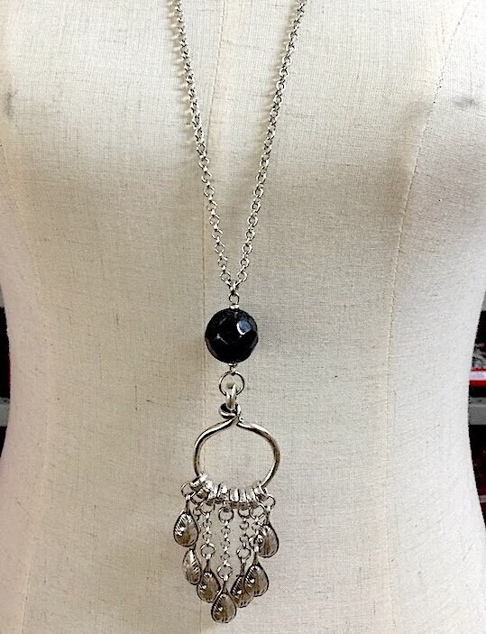 BN-42686 - Silver Plated Necklace