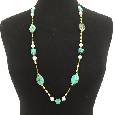BN-2019 Gold plated necklace