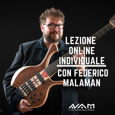 Lezione Online Individuale con Federico Malaman da 1h