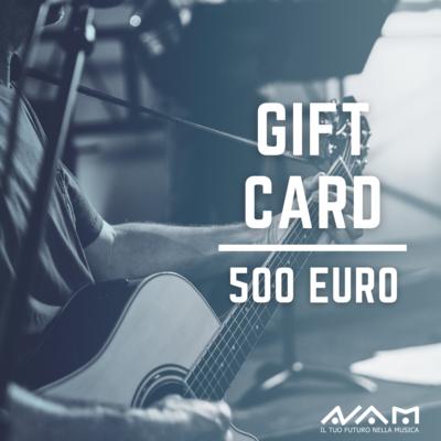 Gift Card da 500€