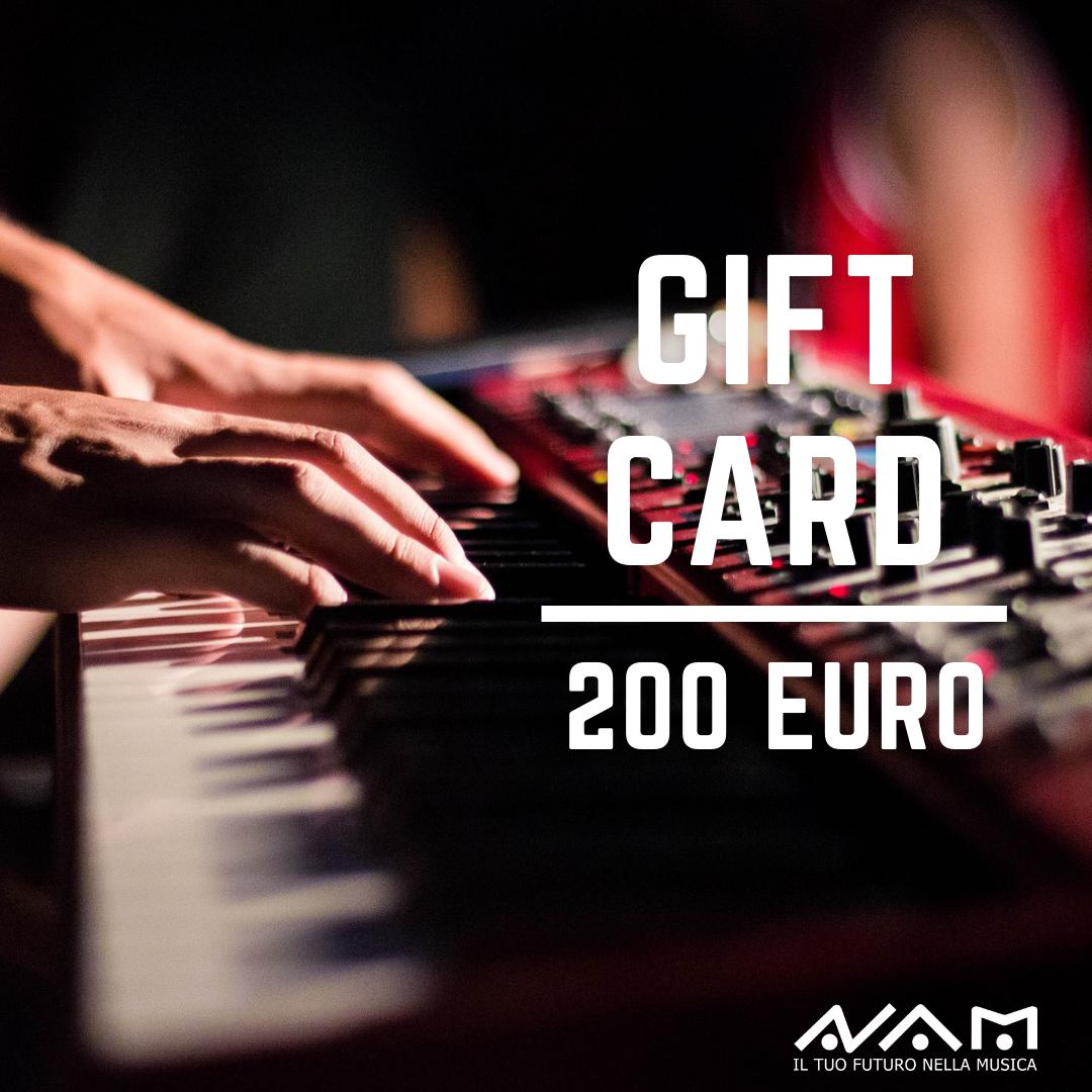Gift Card da 200€