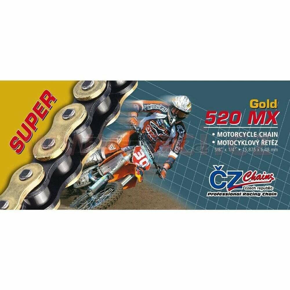 ĶĒDE ČŽ 520MX GOLD 118L