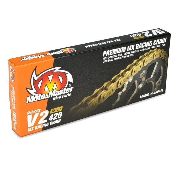 ĶĒDE MOTO MASTER MX 420 GOLD 130L