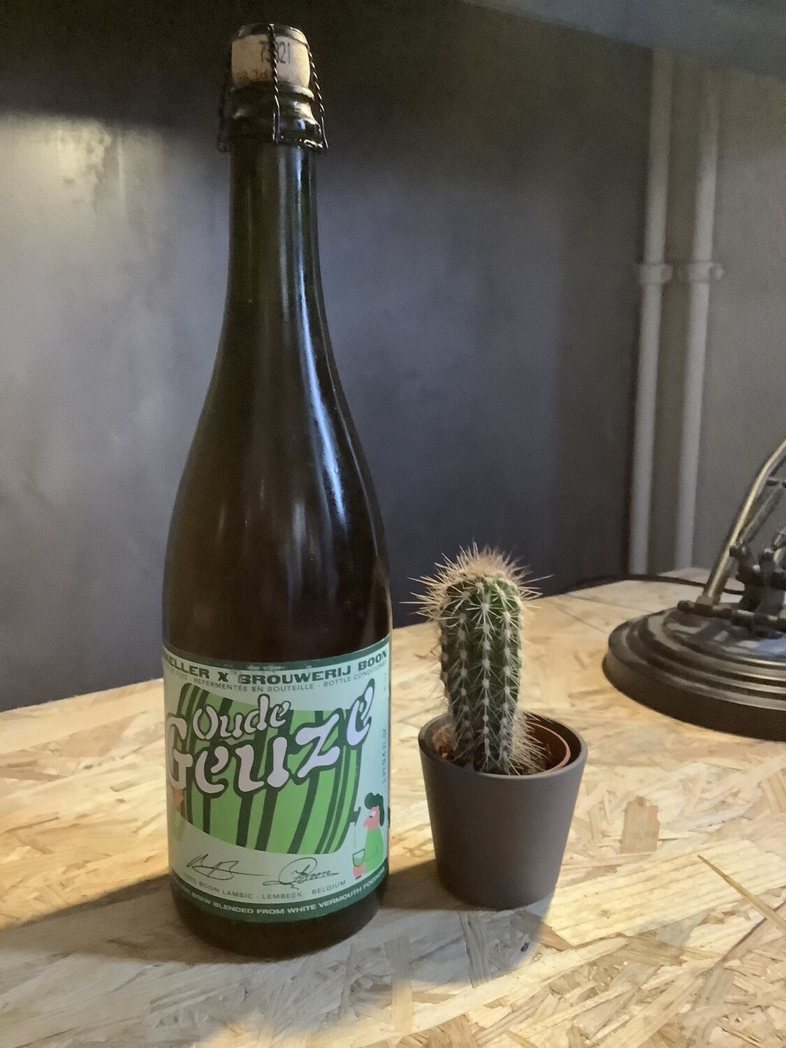 Oued Geuze White Vermouth Foeders - 6,6% - 75cl